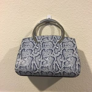 Henri Bendel snake print purse